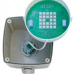 "SIWA<sup>®</sup> Signalleuchte<br>Leuchtfelddurchmesser 120mm<br>Leuchtmittel LED ""SIWA"" 230V/12W,  ca. 800 Lumen"