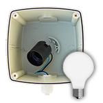 SIWA<sup>®</sup> Signalleuchte mit Fassung E27<br>Leuchtfelddurchmesser 120mm, ca. 250 Lumen<br>